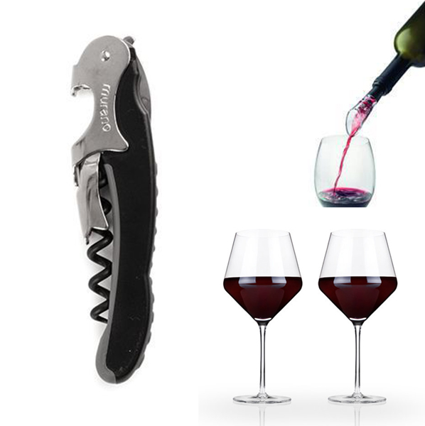 Open, Pour Drink Wine Gift Set