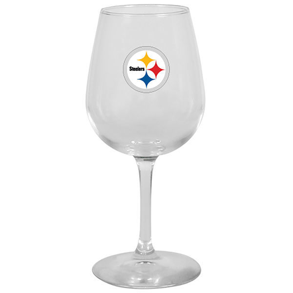 Pittsburgh Steelers Wine Glass