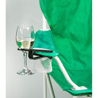The Wine Hook Outdoor Chair Wine Holder